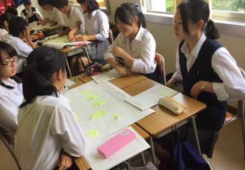 修学旅行の事前学習に導入していただいたアクティブラーニングプログラムの様子が神奈川新聞に掲載されました!